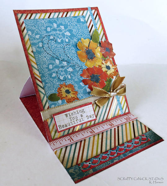 Fall easel card