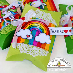 Thank-you party favours