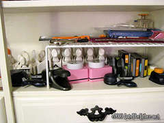 Top portion of supply hutch