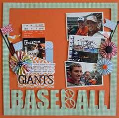 Giants Baseball *GCD Studios*