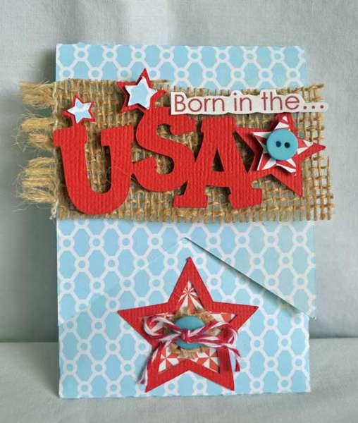 Born in the USA *GCD Studio's July PaperCut*