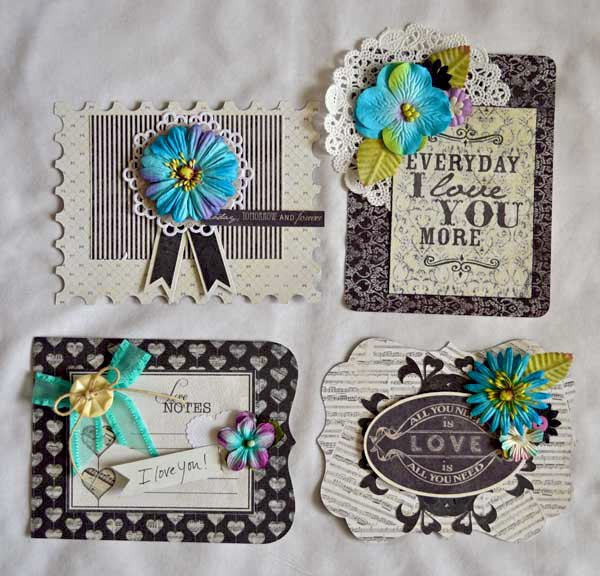 Card Set with Holder