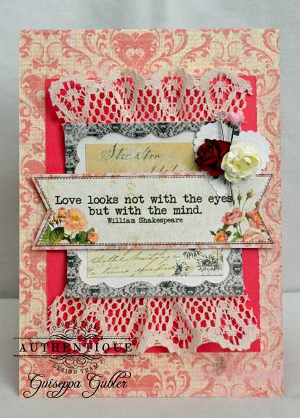 Love Card *Authentique*
