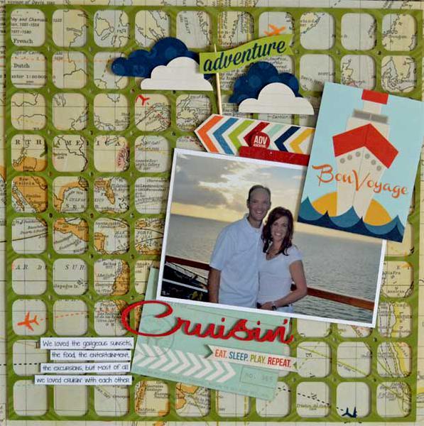 Cruisin' Simple Stories New Urban Traveler*