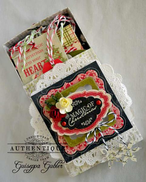 Christmas Gift Tag Set *Authentique*