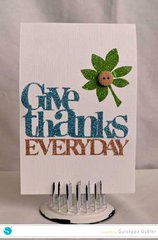 Give Thanks Everyday *Silhouette*