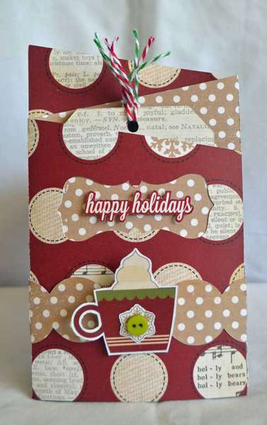 Happy Holidays Card *Simple Stories*