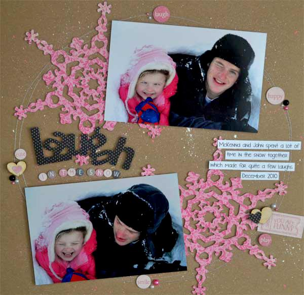Laugh in the Snow *Samantha Walker*