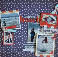 Lovin' the Beach *Samantha Walker*