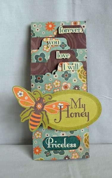 My Honey Card *Samantha Walker Silhouette Die cut*