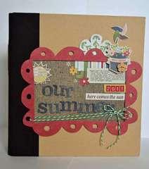 Our Summer *Simple Stories 6x8 Album*