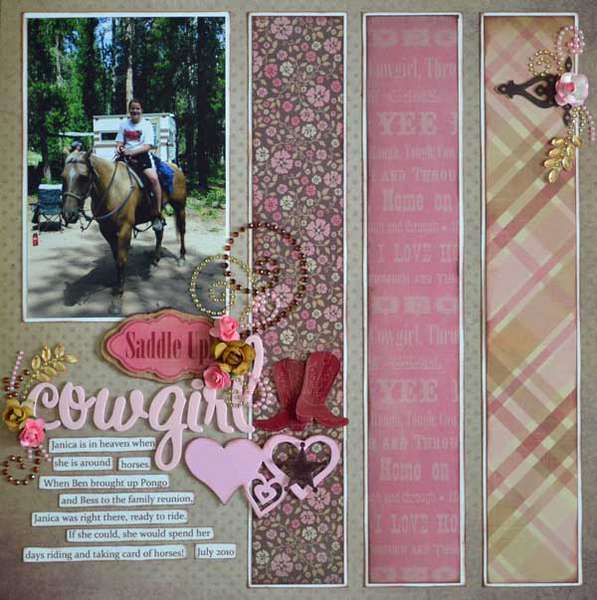 Saddle Up Cowgirl *Samatha Walker & Zva Creative*