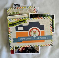 Snapshots & Memories *Simple Stories Urban Traveler*