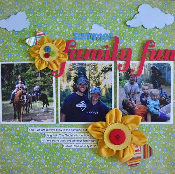 Summer Family Fun *Samantha Walker*