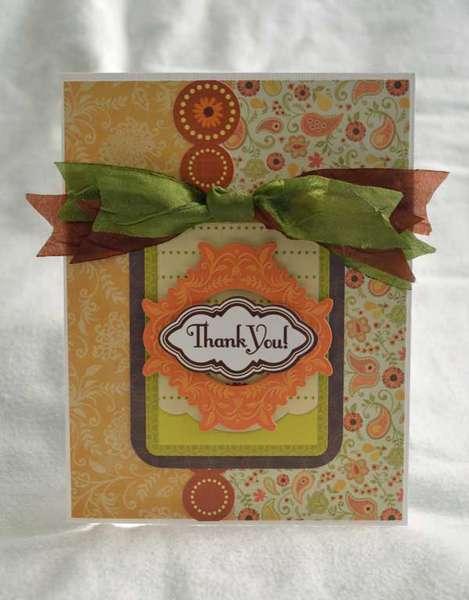 Thank You Card *Samantha Walker for Creative Imaginations*