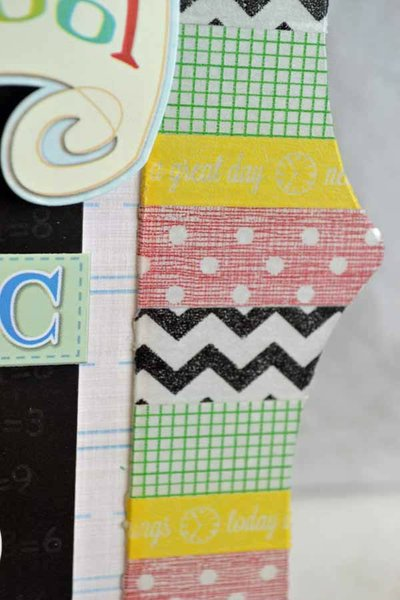 Welcome Back to School Acrylic Frame *Clear Scraps
