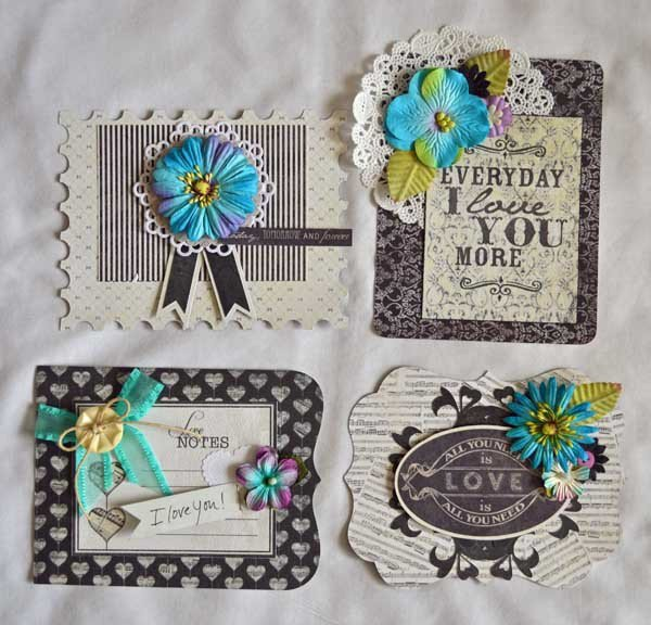 Card Set with holder *Authentique*