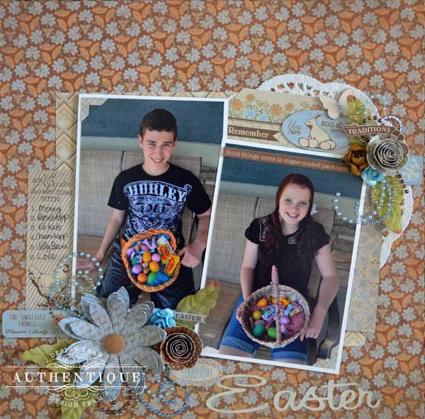 Easter *Authentique and Zva Creative*