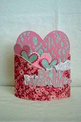 Be My Valentine Bendy Card *Samantha Walker*