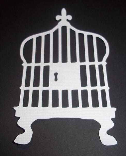 Die cut swap - Birdcage