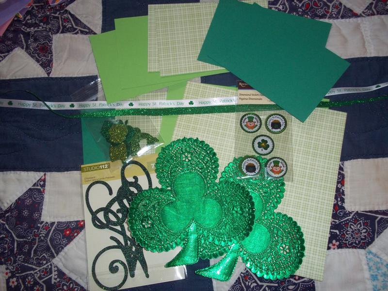 March Kit Swap - St Patricks Day