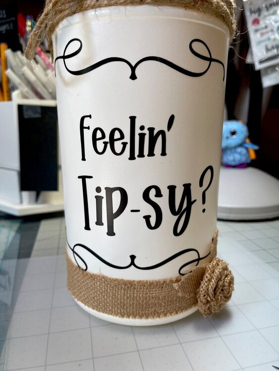 Feelin' Tip-sy ?