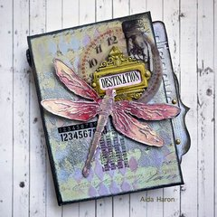 Textured Mini Album by TH Media Team Member Aida Haron
