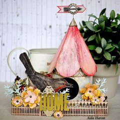 Home Decor Birdhouse by TH Media Team Member:  Aida Haron