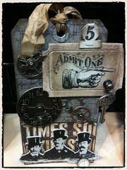 Tim Holtz Steampunk Tag