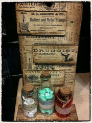 Tim Holtz Adverts/Curiosities