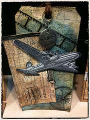 Tim Holtz Air Travel