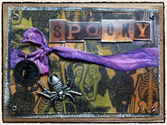 Tim Holtz Spooky Card