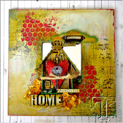 Home Mixed Media Decor by TH Media Team Member Aida Haron