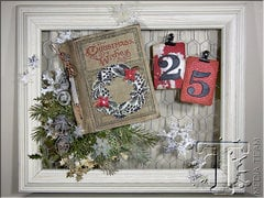Christmas Countdown Calendar by TH Media Team Member Jan Hobbins