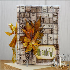 Thankful Gratitude Journal by TH Media Team Member:  Tammy Tutterow