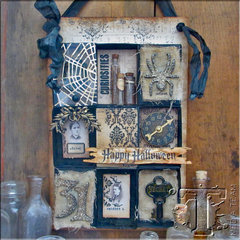Matchbox Halloween Collage by TH Media Team Member Paula Cheney