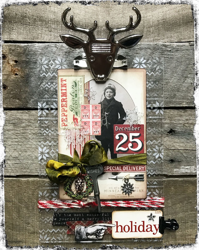 Holiday Project:  Oh Deer by Tim Holtz