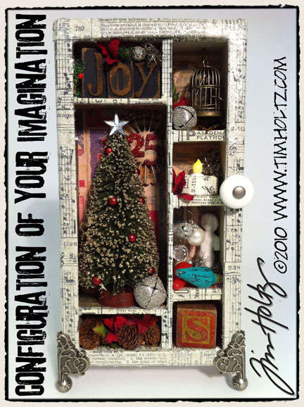 Holiday Configuration of your Imagination by Tim Holtz