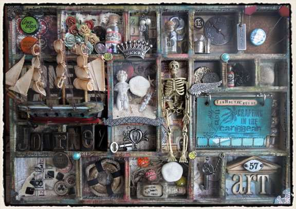 Featuring the New Tim Holtz Kits at Scrapbook.com