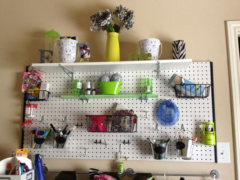 First pegboard