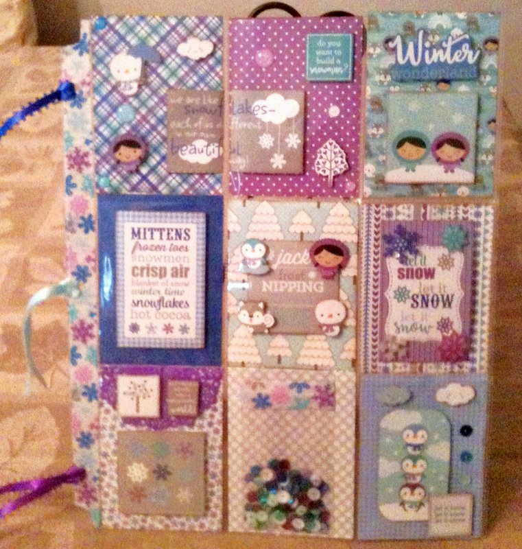 Doodlebug Designs Polar Pals Pocket Page