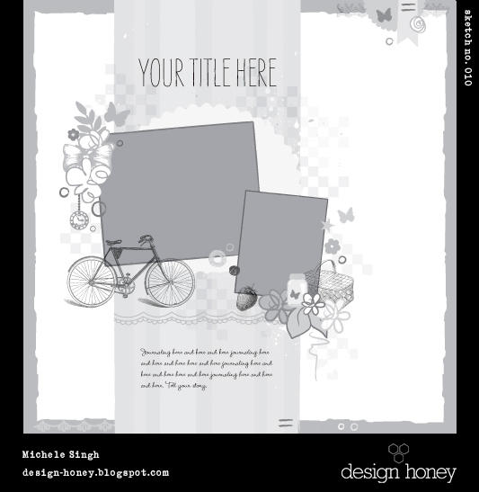 design honey sketch no. 010