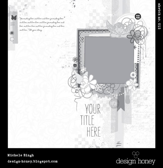 design honey sketch no. 012