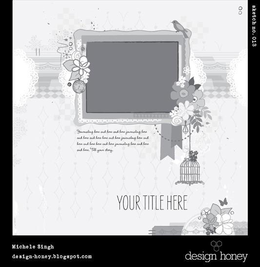 design honey sketch no. 013