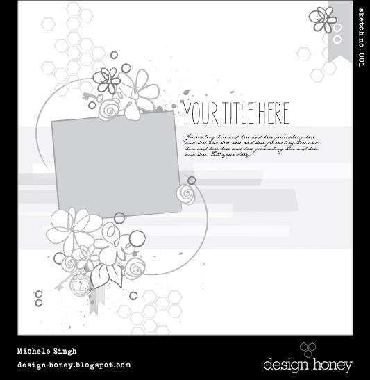 design honey sketch no. 001