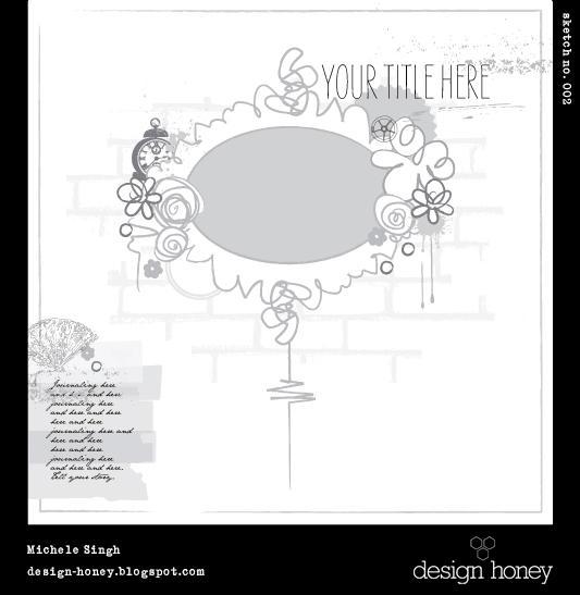 design honey sketch no. 002