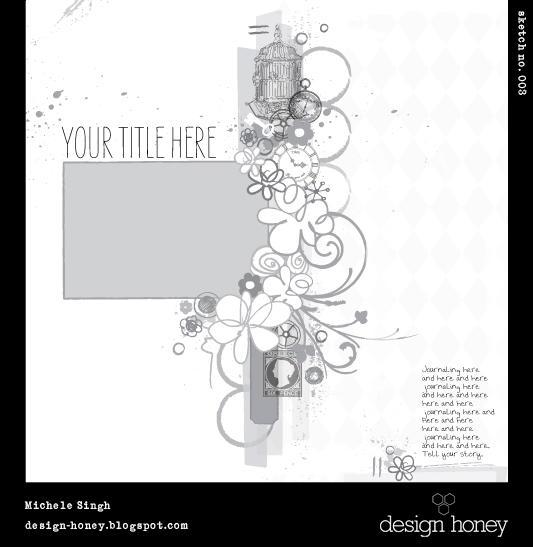 design honey sketch no. 003