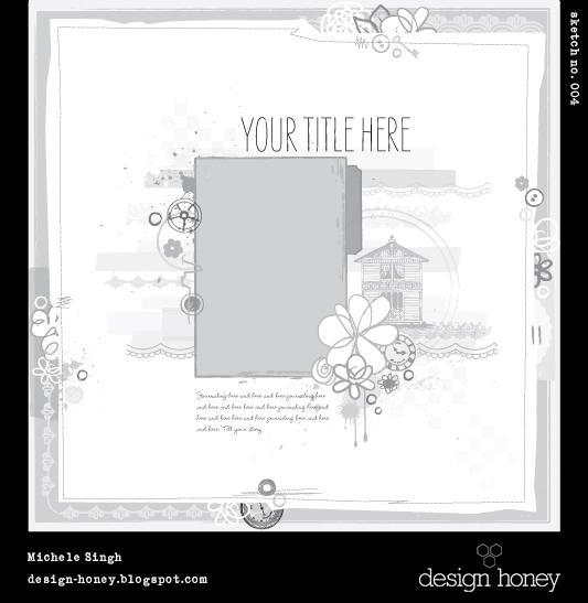 design honey sketch no. 004
