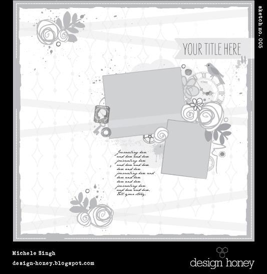 design honey sketch no. 005