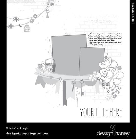 design honey sketch no. 006